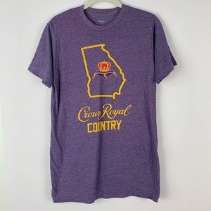 CROWN ROYAL Country Short Sleeve Graphic Tee S